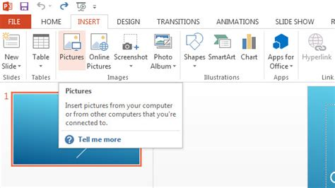 insert pictures and animation in powerpoint 2013 free