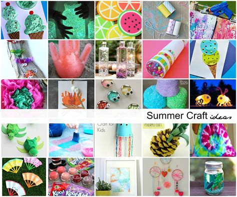 summer craft ideas for kids the idea room