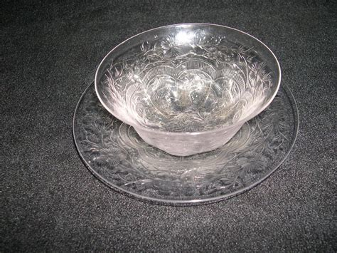 etched in tears a webb s glass shop mystery books webb etched glass finger bowl and plate from