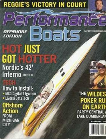 performance boats magazine performance boats lake edition magazine subscription canada