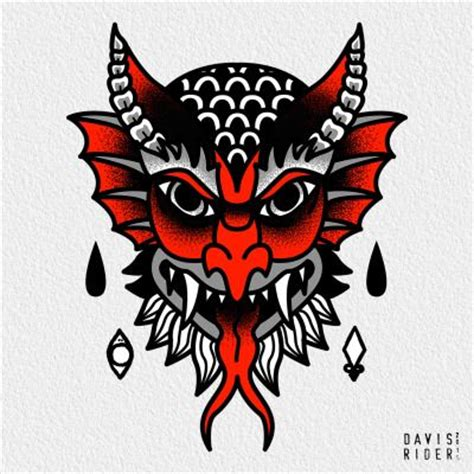 traditional devil tattoo 25 best ideas about on