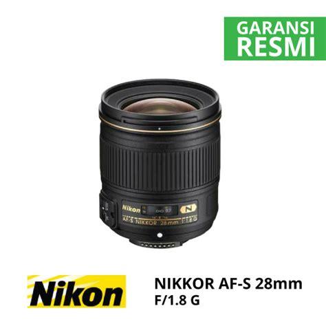 Nikon Lensa Af S 28mm F 1 8 G nikon af s 28mm f 1 8g harga dan spesifikasi