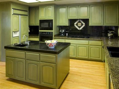 Green Cabinets In Kitchen Green Kitchen Cabinets Pictures Options Tips Ideas Hgtv