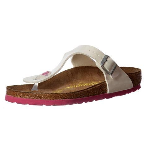 Sandal Fashion 2 Tali Transparan Classic Fashion Sandals Fse03 4 birkenstock classic gizeh birkoflor standard fitting buckled toe post style flip flop