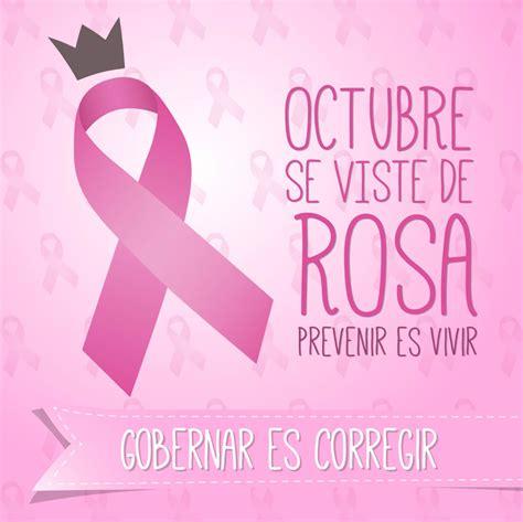 imagenes octubre mes del cancer de mama octubre mes del c 225 ncer de la mujer psn noticias