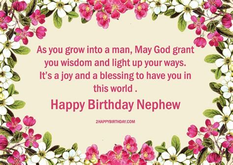 Happy Birthday Wishes For Nephew 25 Lovable Birthday Wishes For Nephew 2happybirthday