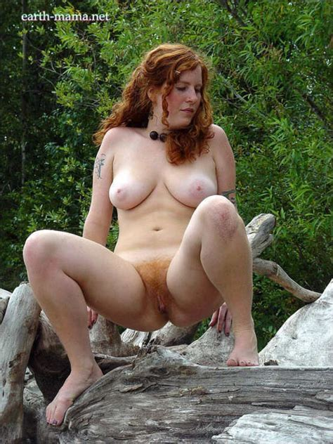 Red Head Hairy Pussy Slut Outdoor A Redhead Nude Matching Carpet Hairy Exhibitionist Pussy