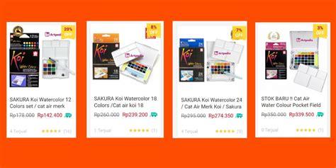Cat Akrilik Shopee toko artpedia official shop shopee indonesia