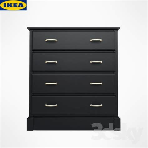 3d Models Sideboard Chest Of Drawer Ikea Undredal | 3d models sideboard chest of drawer ikea chest undredal