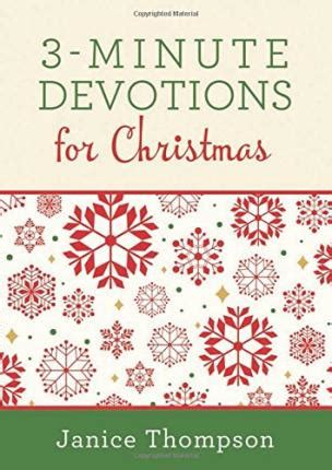 3 minute devotions for 180 encouraging readings books 3 minute devotions for dr janice thompson