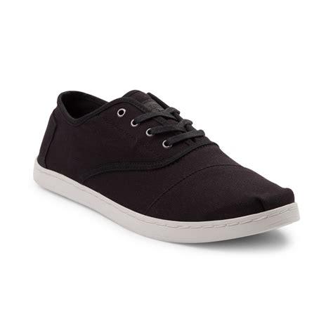 shoes black mens toms donovan casual shoe black 354109