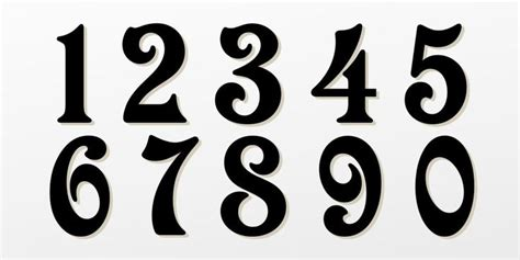 25 Best Ideas About Number Tattoo Fonts On Pinterest Tattoos Lettering And Numbers