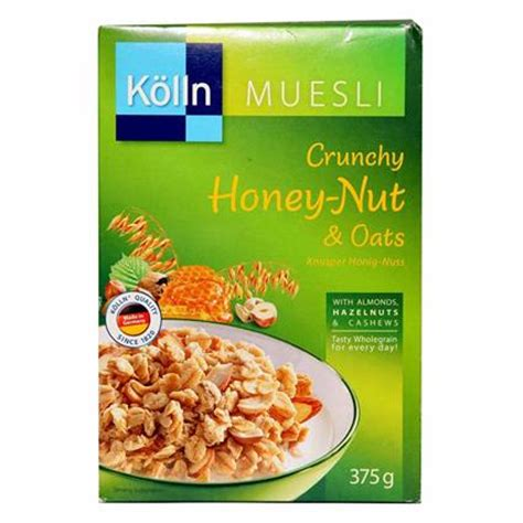 Kolln Muesli Crunchy Honey Nut Oat crunchy honey nut oats muesli buy crunchy honey nut oats muesli of best quality in