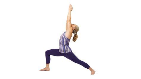 yoga warrior warrior i pose step by step instructions