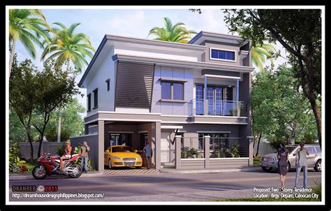 filipino house design three story house plans in the philippines