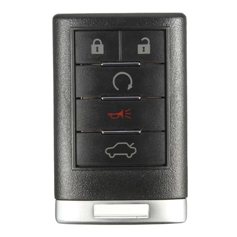 Cadillac Cts Remote 5 Button 315hz Keyless Entry Remote Key Fob Transmitter