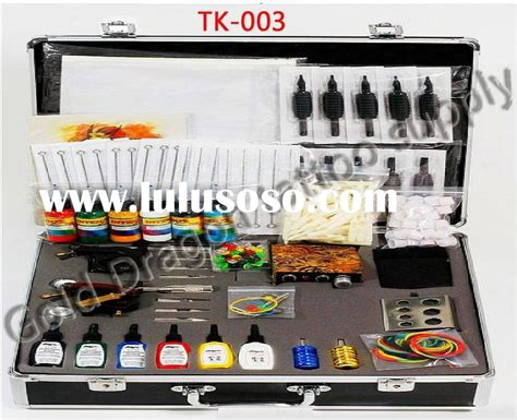 cheap tattoo kits professional kits 7 guns kuro sumi 15 color inks