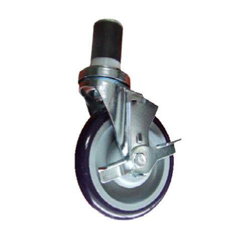 table casters with brakes thunder 5 quot caster with brake for work table slwtc005b