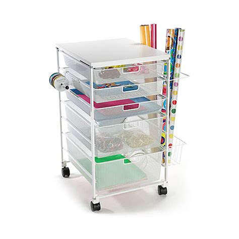 container store gift wrap gift wrapping organization for small spaces organizing