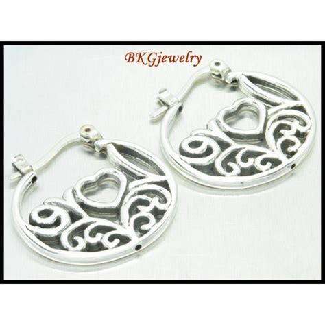 silver electroforming jewelry 925 sterling silver huggie earrings electroform jewelry