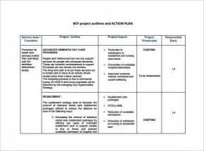 simple project plan template doc 585664 exle of plan business plan