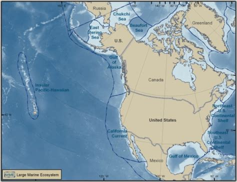 Pacific Continental Shelf by Pone 0011914 G001 An Overview Of Marine Biodiversity In United States Waters Open I