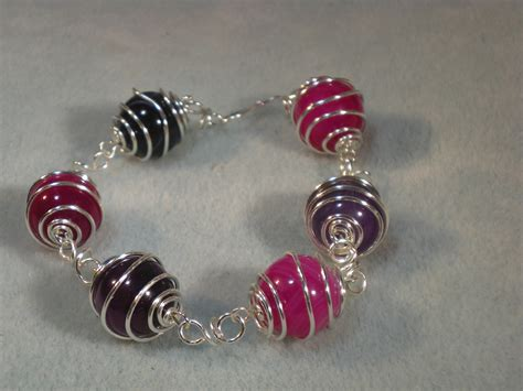 make jewelry wirework bracelet tutorial how to make wire caged