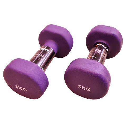 Barbel Dumbbell Neoprene 2 Kg Ungu neoprene dumbbells set xplorer purple 5 kg fitness