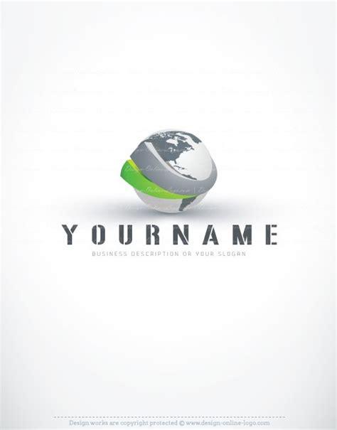 free 3d logo templates 3d globe logo