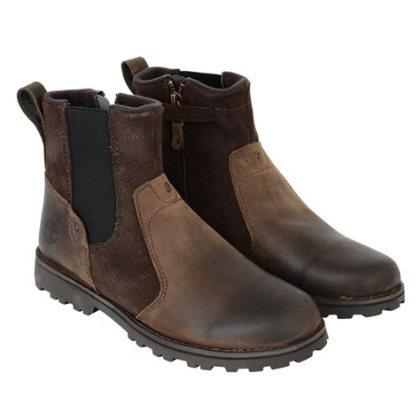 timberland boys two toned brown boots timberland from