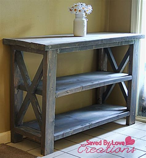 diy rustic sofa table 1000 ideas about rustic console tables on pinterest