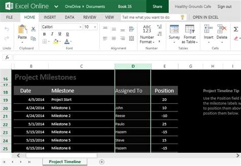 project milestones template how to easily create project timeline in excel