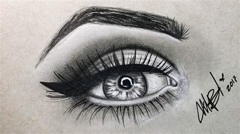 imagenes de ojos faciles de dibujar como dibujar un ojo semi realista como dibujar y pintar