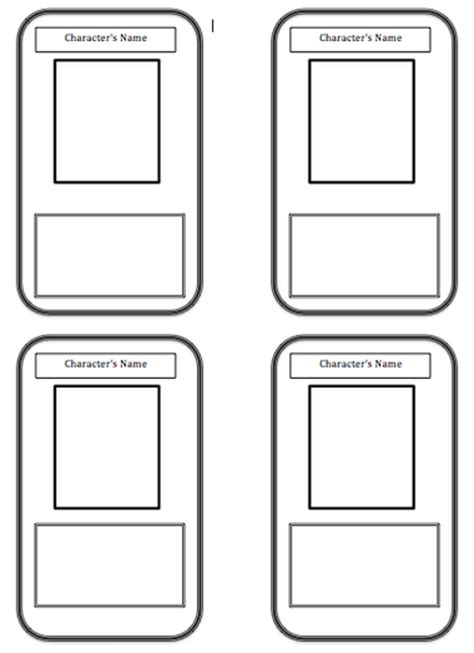 free trading card templates printable trading card template hotandthinkertools trading