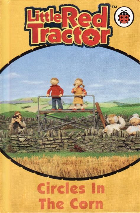 the cornfield books circles in the corn ladybird book tractor