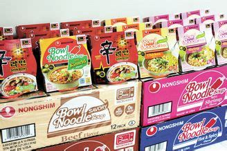 Nongshim Anseongtangmyeon Nongshim Goes Global With Farmer S 미주 중앙일보 The