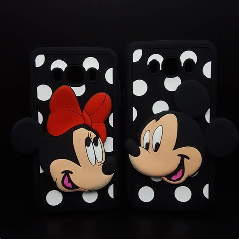 Samsung A 7 2016 50minnie Mickey 3d Softcase Silicon Disney A72016 aliexpress buy 3d mickey minnie mouse soft silicone for samsung galaxy