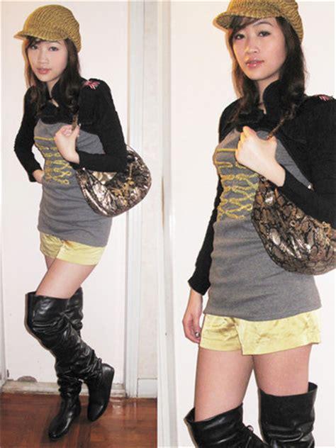 Rucika Knee Polos Pvc 1 12 D L Bengkokan D Dl Tanpa Drat wing l black pvc knee boots h m golden knitted hat gift from friend golden handbag