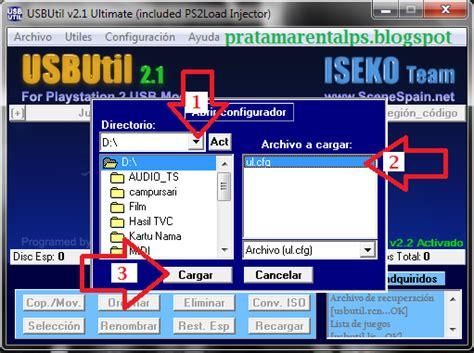 download game ps2 format ul cfg cara instal game ps2 menggunakan usbutil v2 1 berbagi