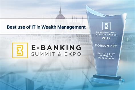 best wealth management banks dorsum second time awarded best use of it in wealth