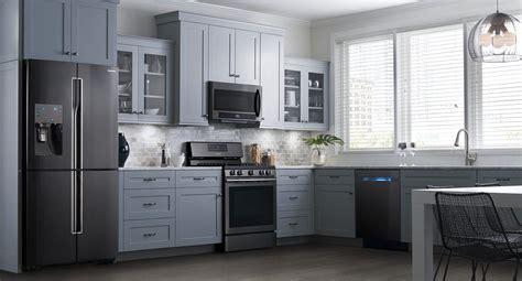 samsung black stainless steel appliances beautiful dream kitchen inspired kitchen renovation