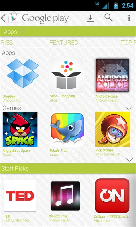 Why Play Store Why The Play Store S Mobile Interface Is A Mess And Some