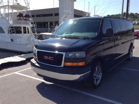 gmc savana 3500 passenger for sale sell used 2004 gmc savana 3500 66k 10 passenger 6