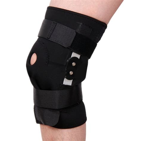 Ams Sport Knee Support Flypower sports adjustable kneepad thigh knee support brace wrap bandage injury relief sale