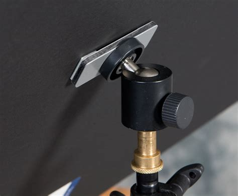 Reflector Holder With Ballhead diy reflector holder flash and studio lighting in