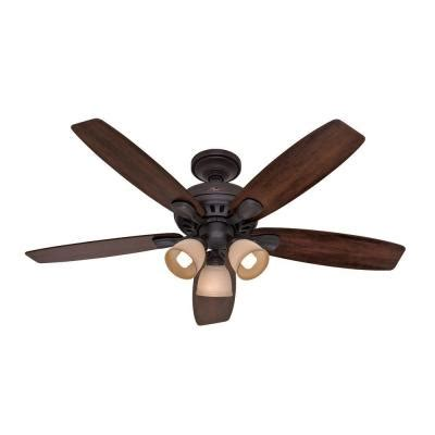 Home Depot 52 Ceiling Fans by Highbury 52 In Indoor New Bronze Ceiling Fan 52006