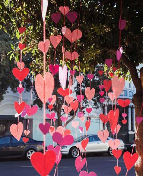valentines day decor outdoor decorating ideas with hearts for this valentines