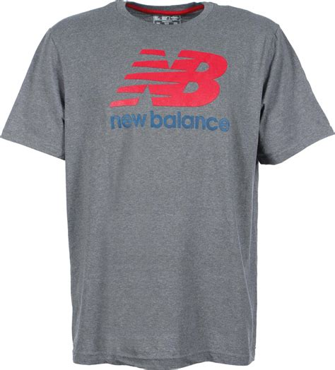 Tshirt New Balance Grey new balance basic t shirt grey