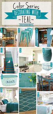 teal blue home decor color series decorating with teal