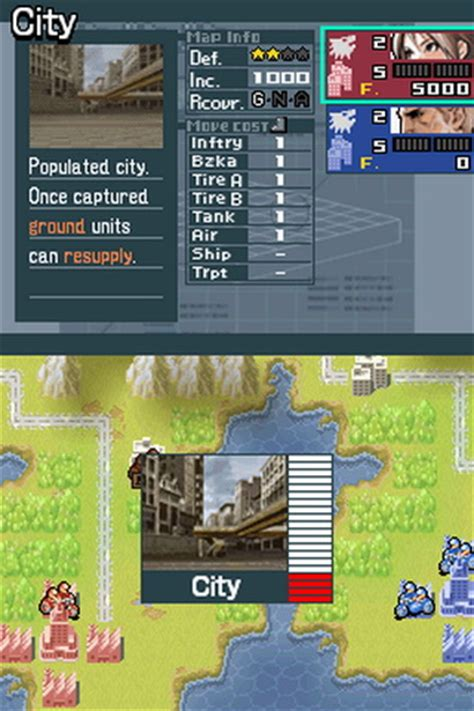 emuparadise advance wars advance wars days of ruin u independent rom